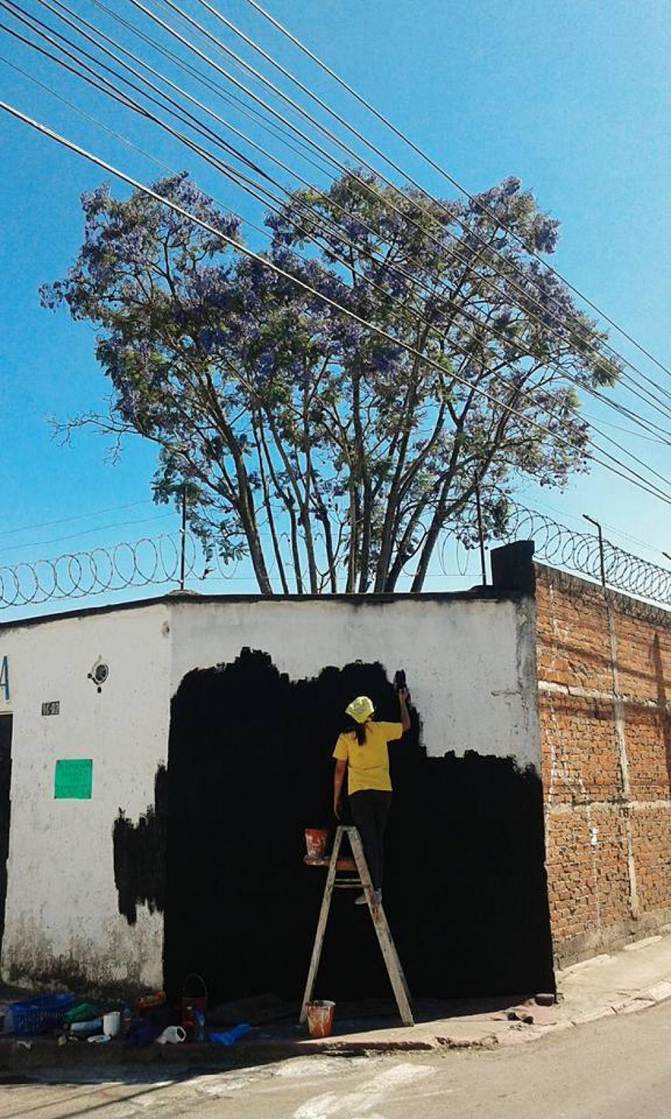 """El proyecto se llama """"Festival de Primavera"""" y tiene como objetivo dar vida a las calles con arte. (Foto: Celeste Mayorga)"""