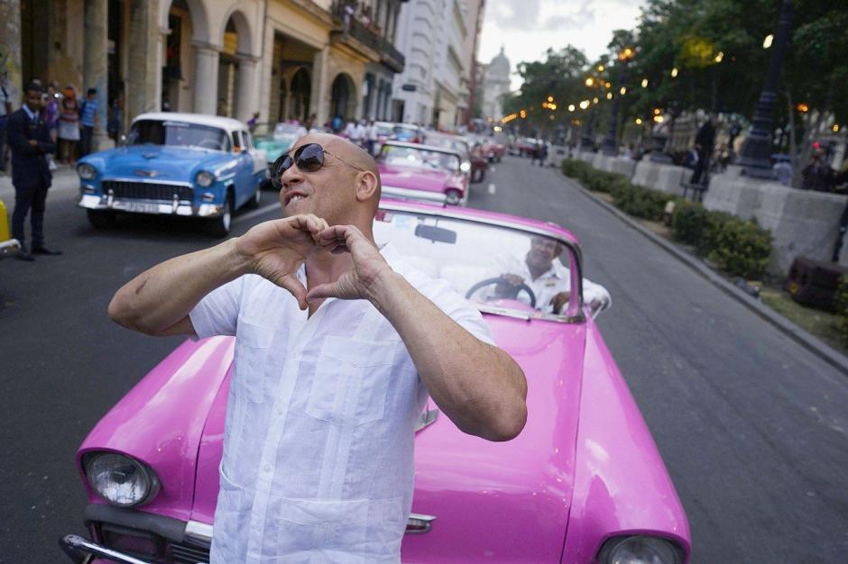 Vin Diesel ya se encuentra disfrutando del paisaje caribeño. (Foto: kshow.news)