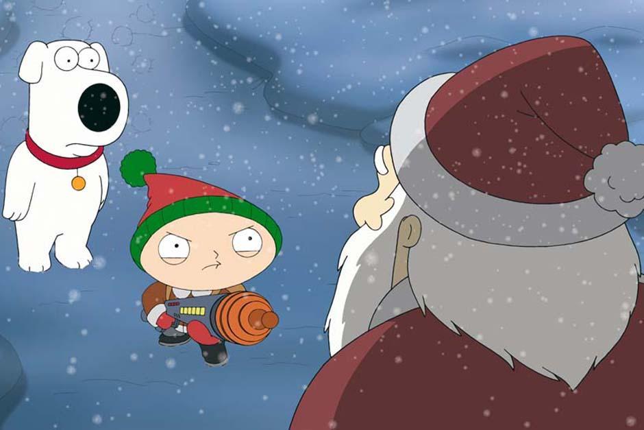 En la navidad pasada Brian y Stewie