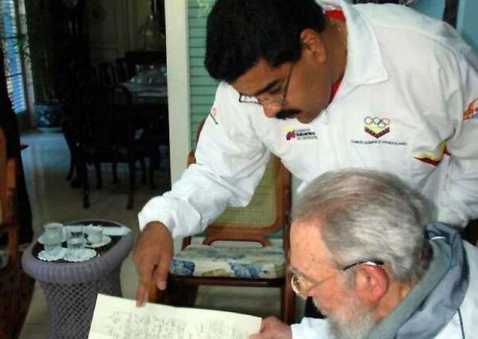 Fidel Castro, Nicolás Maduro, La Habana, Cuba, encuentro