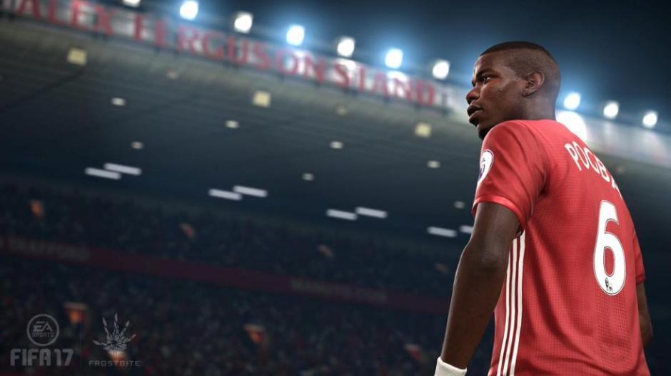 El Manchester United luce así en el FIFA 17. (Foto: Twiiter)