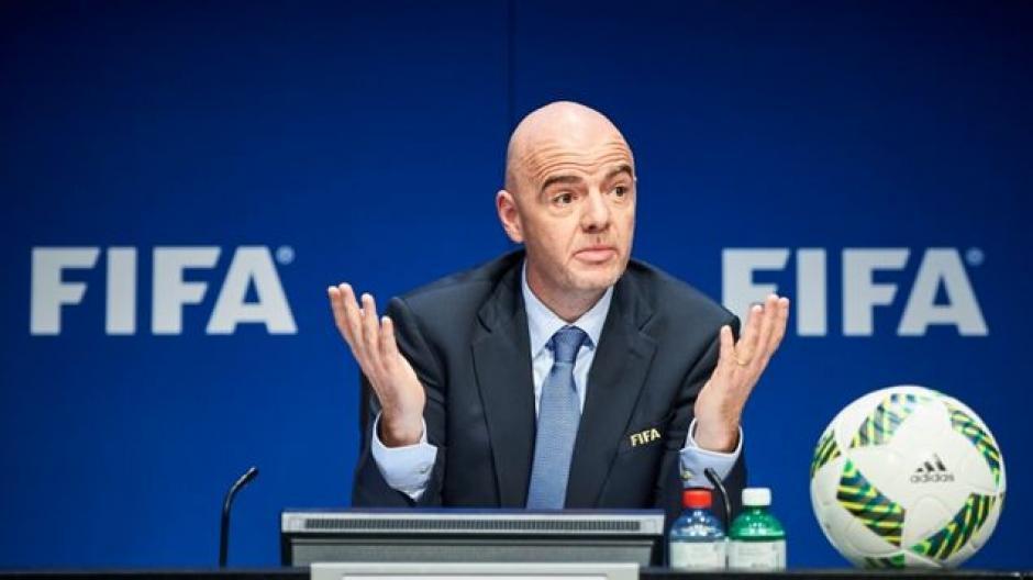 Gianni Infantino presidente de FIFA foto