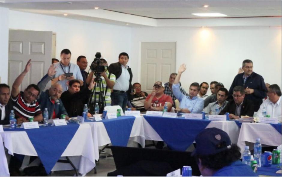 Un grupo de 34 miembros de la asamblea no reconocieron la ampliación de mandato de Comité de Regularización. (Foto: Soy502)