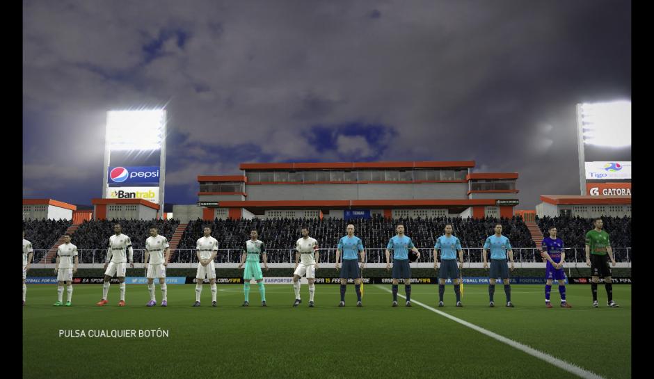El estadio Cementos Progreso es otra de las caras del videojuego.  (Foto: Captura de imagen)