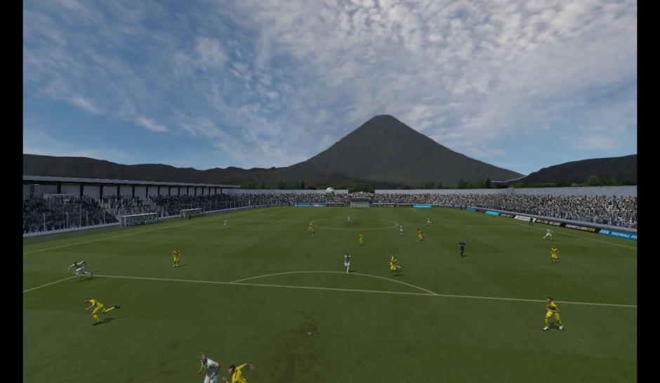 El estadio Pensativo está recreado en el videojuego, con todos sus detalles. (Foto: Captura de imagen)