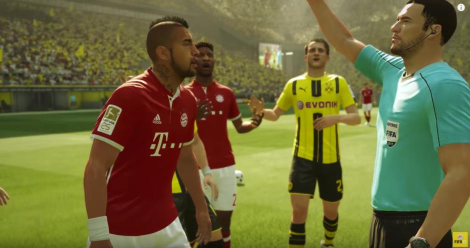 El tráiler del juego se presentó en Gamescom 2016. (Captura de pantalla: EA Sports FIFA/YouTube)