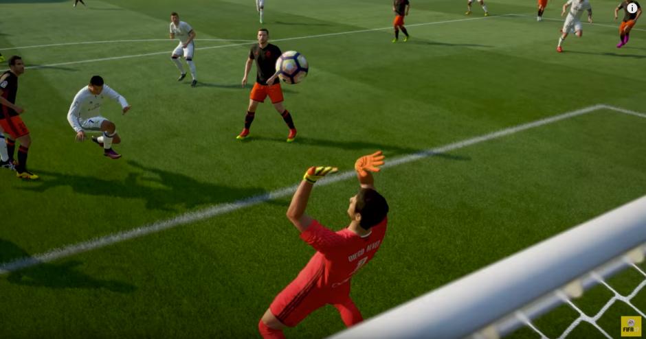 Las gráficas del juego te harán vivir una aventura. (Captura de pantalla: EA Sports FIFA/YouTube)