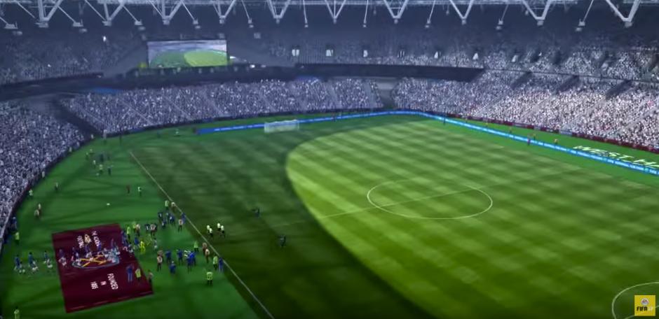 Los mejores estadios del mundo están incluidos en el juego. (Captura de pantalla: EA Sports FIFA/YouTube)