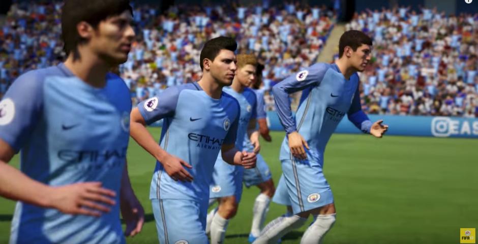 El nuevo juego te permitirá jugar con las estrellas del fútbol. (Captura de pantalla: EA Sports FIFA/YouTube)