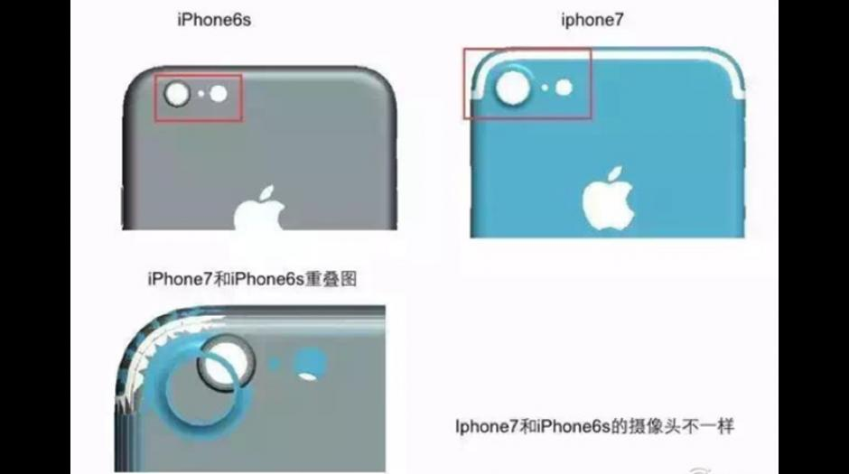 Mira la comparación del espacio para las cámaras con el modelo anterior. (Foto: El Comercio)