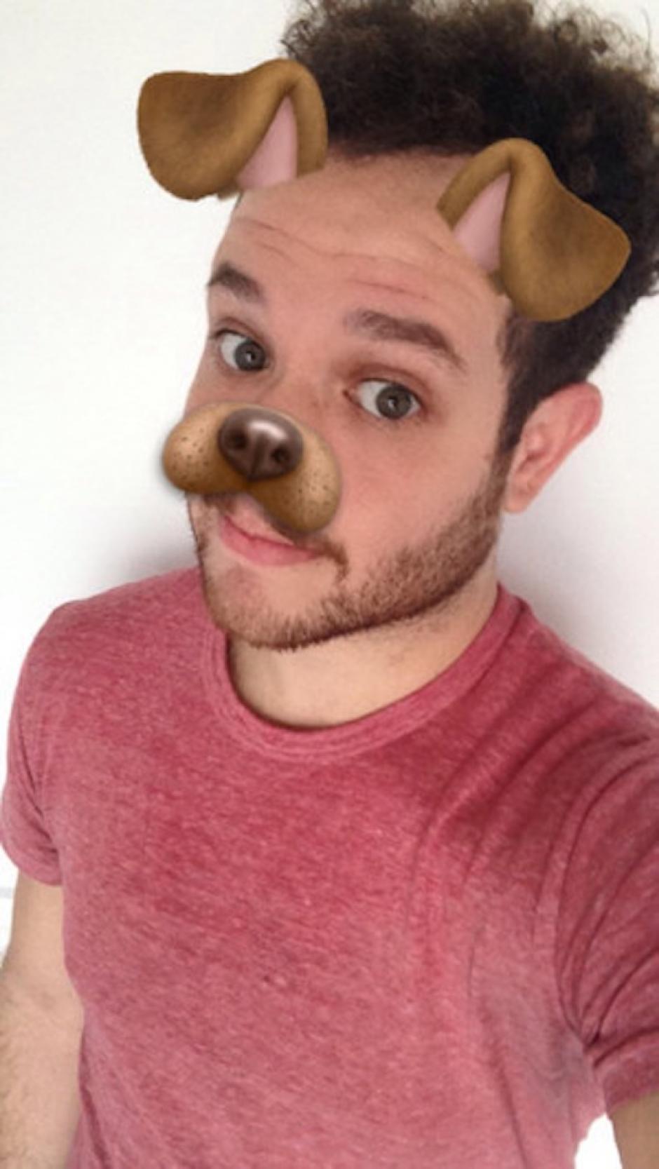 Perrito. (Foto: Markosmos/Snapchat)