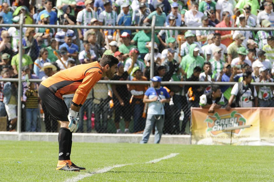 Álvaro García jugó ambos encuentros de la final entre el Deportivo Guastatoya y Antigua GFC padeciendo Chicungunya.