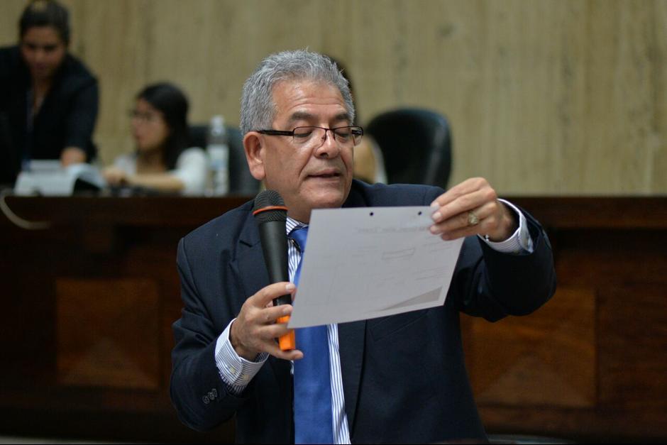El juez Miguel Ángel Gálvez resolvió ligar a proceso a varios implicados en el caso Cooptación del Estado, por el delito de financiamiento electoral ilícito. (Foto: Archivo/Soy502)