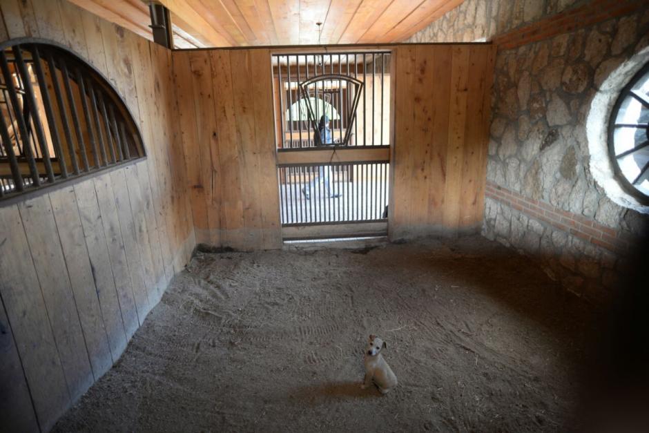 Este es uno de los ambientes que tiene la finca que le perteneció al exmandatario. (Foto: Wilder López/Soy502)