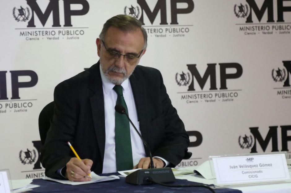 El titular de la CICIG explicó que los elementos del MP no esperaban un ataque de esa forma. (Foto: Alejandro Balán/Soy502)