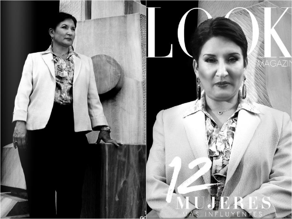 La jefa del Ministerio Público resalta en la portada y la primera entrevista de la revista Look, una publicación especializada en moda y asuntos femeninos. (Foto: Look Magazine)