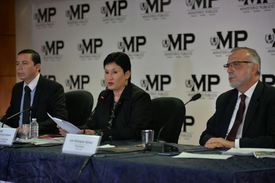La fiscal general explicó la forma en que notificó al presidente. (Foto: Wilder López/Soy502)