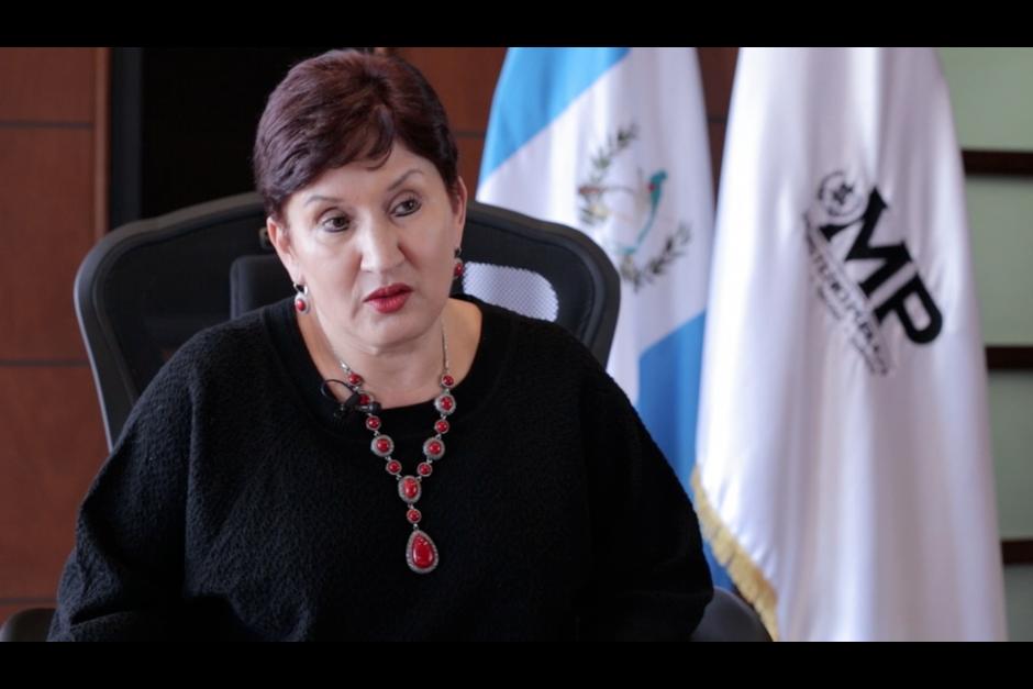 La fiscal general, Thelma Aldana, aseguró que ha recibido amenazas por su trabajo en general. (Foto: Archivo/Soy502)