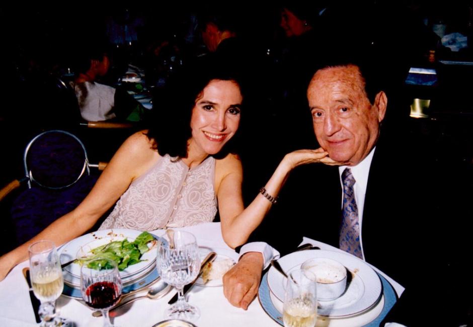 Florinda Meza y Roberto Gómez Bolaños se casaron en 2004. (Foto: Florinda Meza/Twitter)