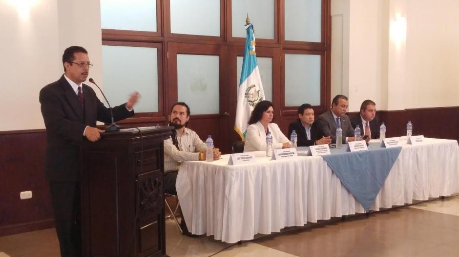 El diputado recordó que durante varios años consumió marihuana. (Foto: José Miguel Castañeda/Soy502)