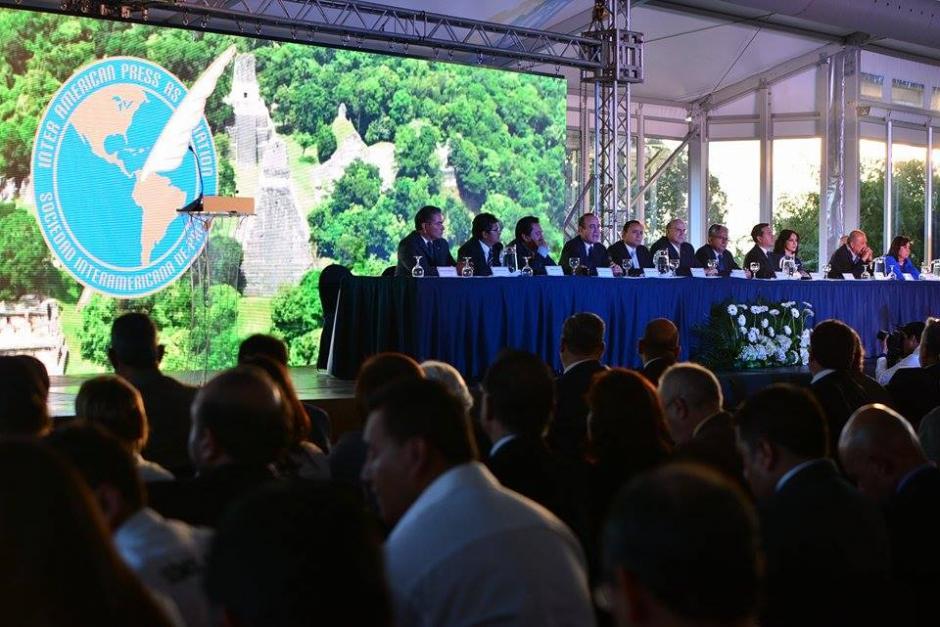 Los candidatos a la presidencia exponen sus ideas para con la prensa de llegar al poder en el gobierno. (Foto: Wilder López/Soy502)