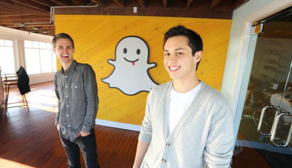 Evan Spiengel y Bobby Murphy son los fundadores de la aplicación móvil Snapchat. (Foto: fortune.com)