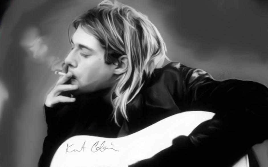 """Kurt Cobain, genio y figura hasta la sepultura, fue el vocalista y líder de la banda de grunge """"Nirvana"""""""