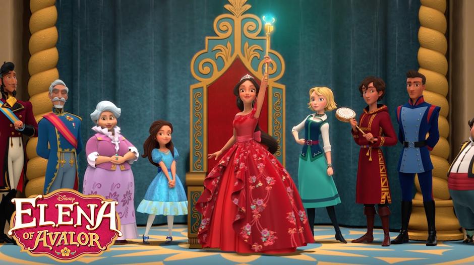 Elena of Avalor es la primera princesa Latinoamericana. (Foto: Youtube)