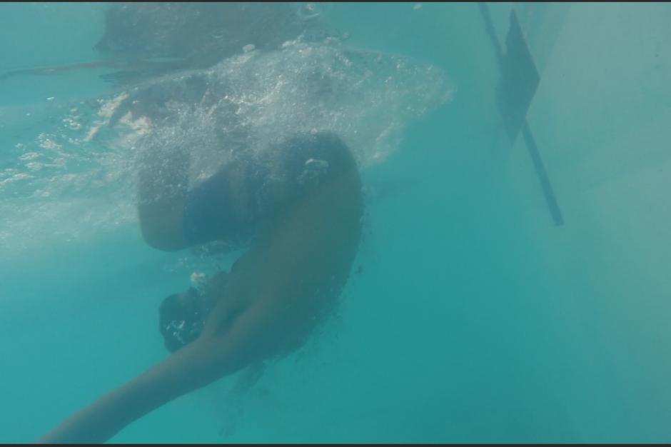 La habilidad y experiencia de los jóvenes en la piscina se pondrá a prueba también en mar abierto en una prueba de 1000 metros. (Foto: Antonio Ordoñez/Soy502)