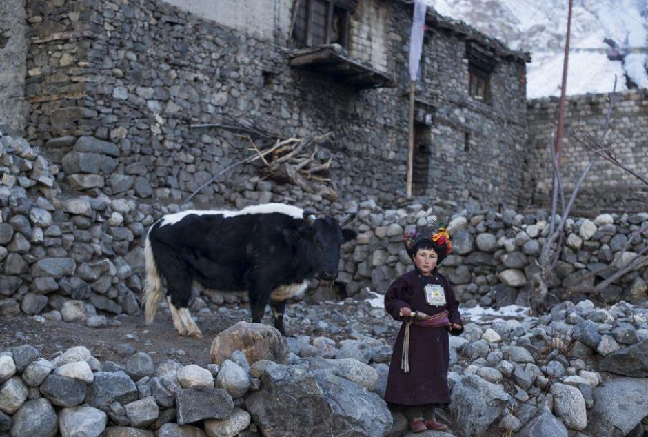 La foto fue captada en la India por Mattia Passarini. Concursa en la categoría personas.