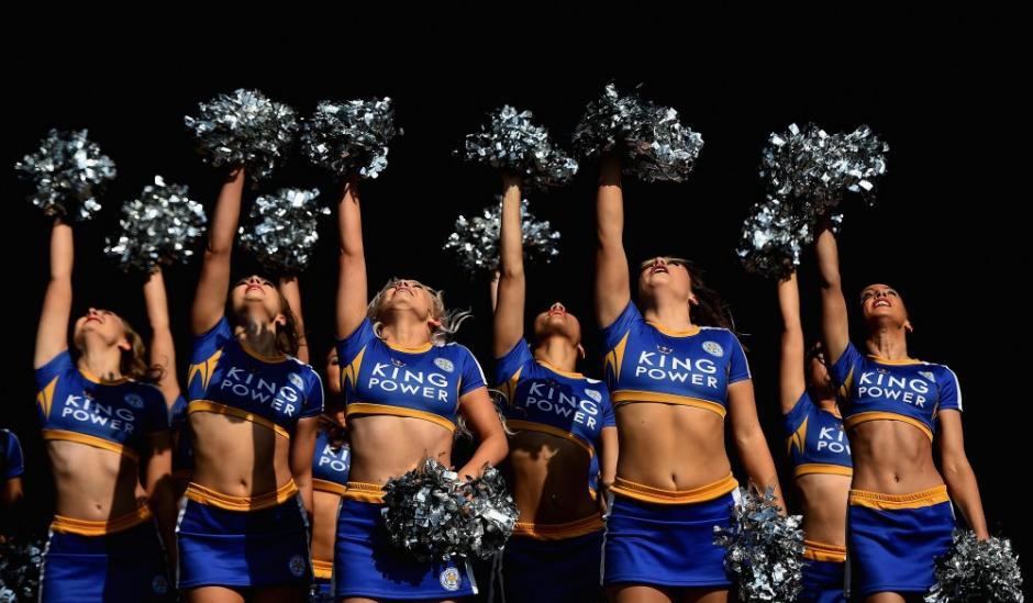Las bellas foxies girls no podían faltar. (Foto: Getty)