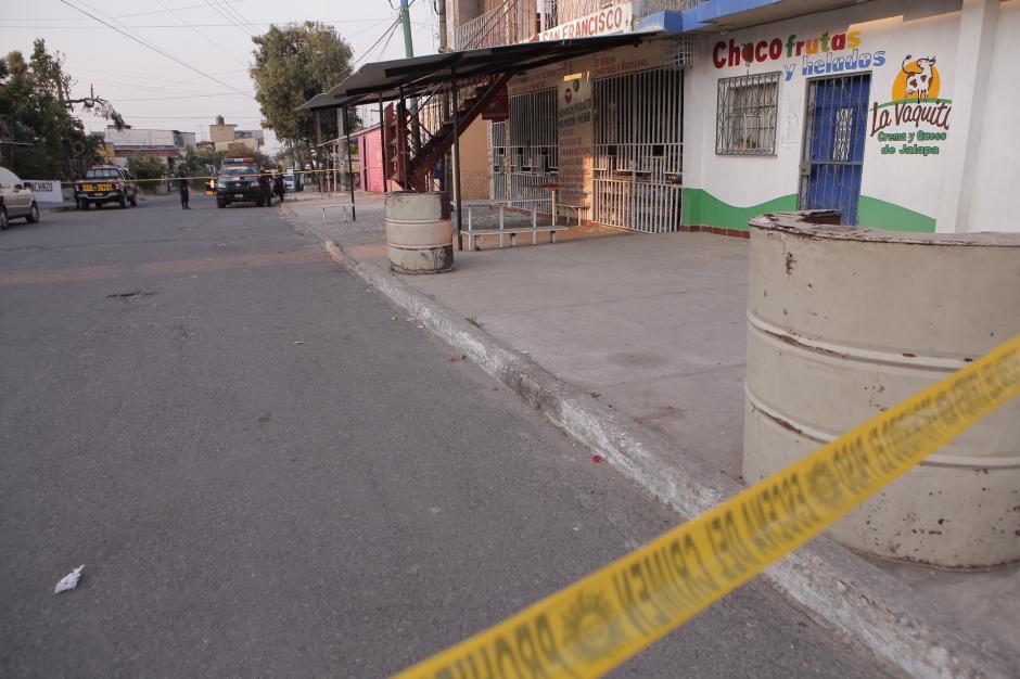 La explosión no dejó víctimas. (Foto: Nuestro Diario)