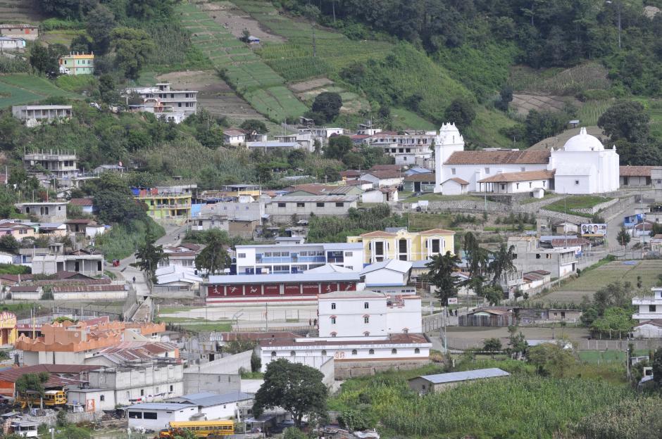 Vista de Concepción, Sololá, tras el linchamiento del alcalde Bacilio Juracán. (Foto: Alan Lima/Nuestro Diario)