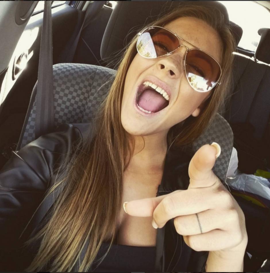 Alba Casillas y sus sorisa que enamora. (Instagram)