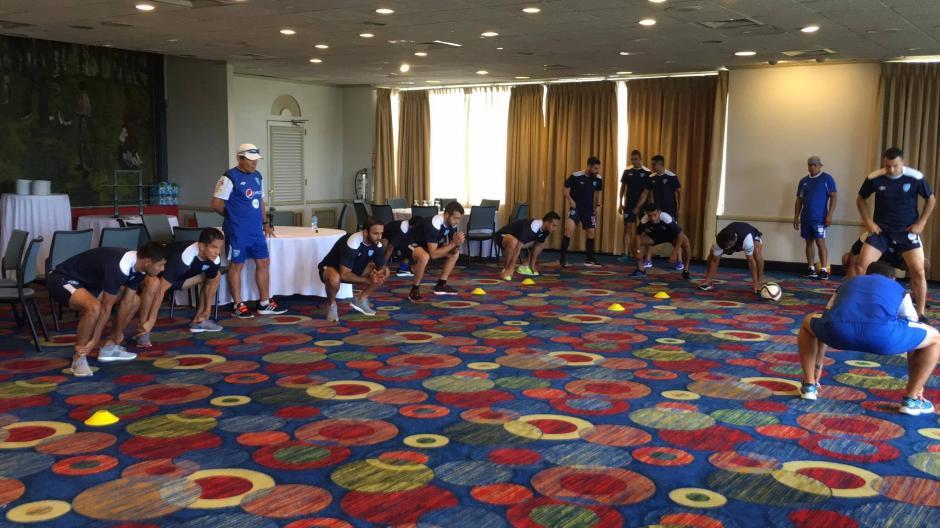 La Selección Nacional hizo sus últimos movimientos. (Foto: Luis Barrios/Soy502)