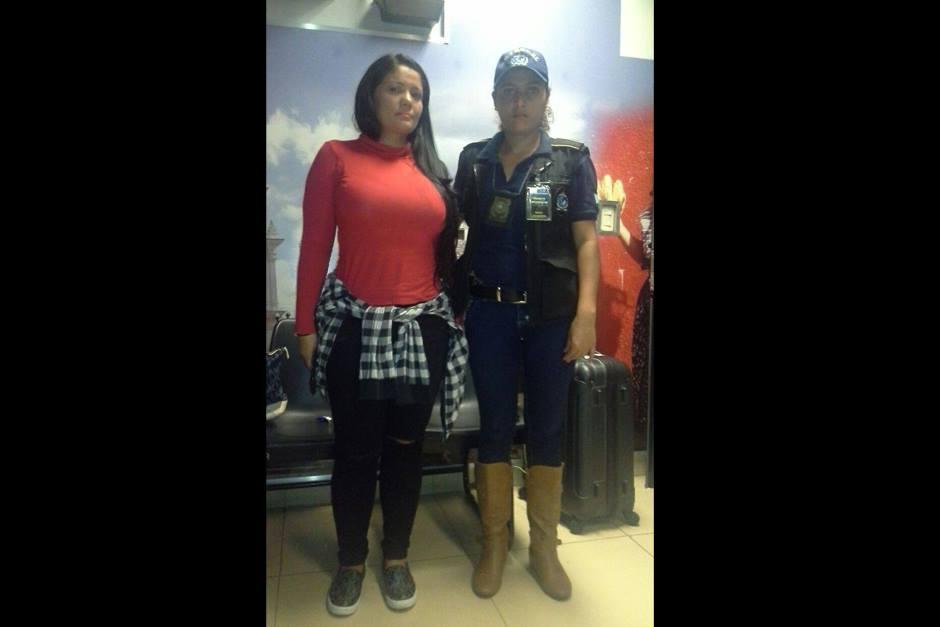 Luz Anyela Celemin Ramírez de Colombia fue capturada en Guatemala. (Foto: PNC)