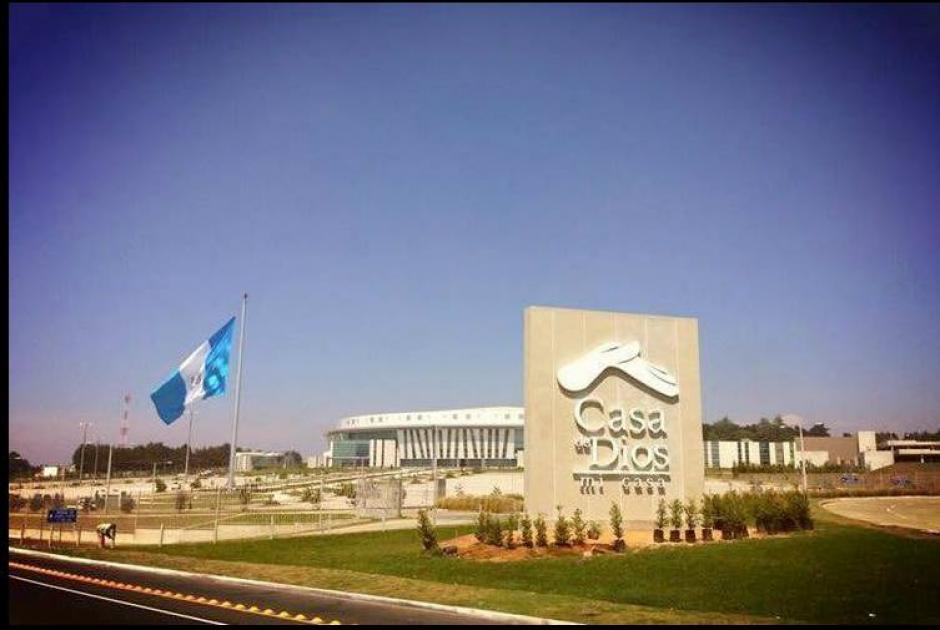 Así se ve originalmente el lugar con la gigantesca bandera. (Foto: Ronni Zuñiga/Facebook)