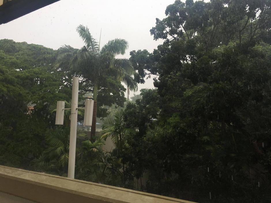El clima en Trinidad y Tobago puede afectar el terreno de juego. (Foto: Luis Barrios/Soy502)