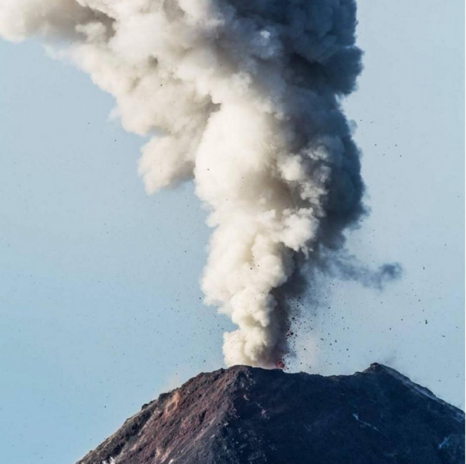 El Volcán de Fuego tiene 3 mil 763 metros de altura. (Foto: Abel Juárez, Instagram)