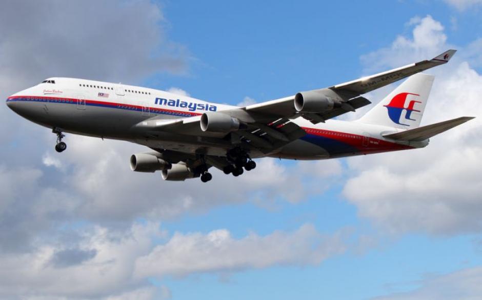 El avión desaparecido es un Boeing 777 que pertenece a Malaysia Airlines