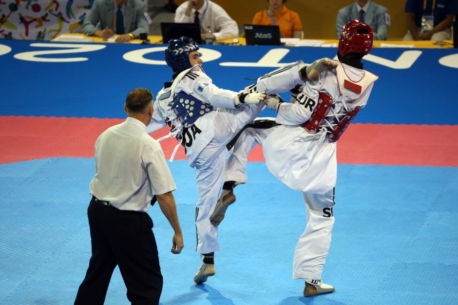 Andrés Zelaya taekwondo guatemala foto