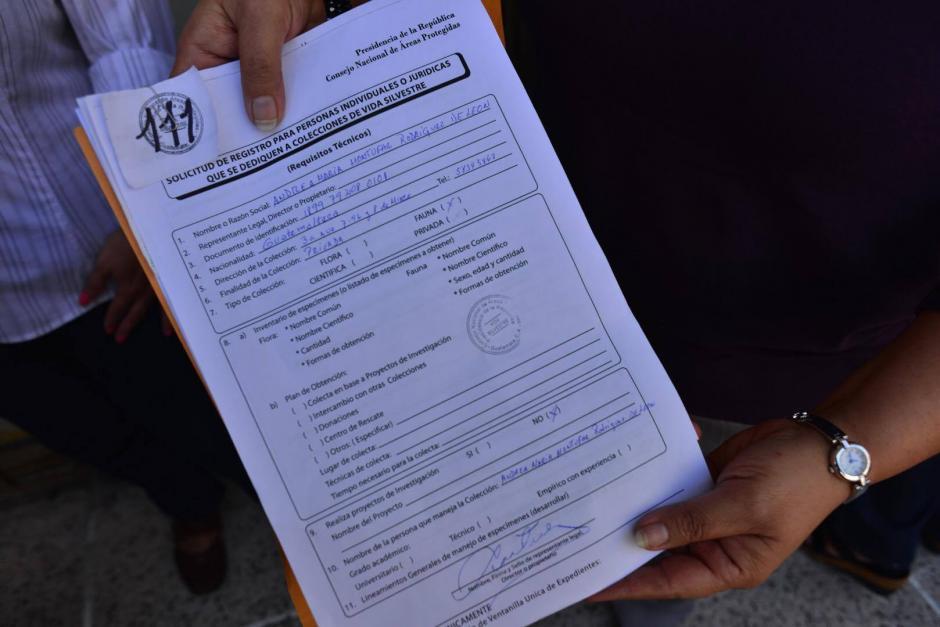 Las personas deben llenar un formulario y pagar Q 250, entre otros requisitos. (Foto: Jesús Alfonso/Soy502)