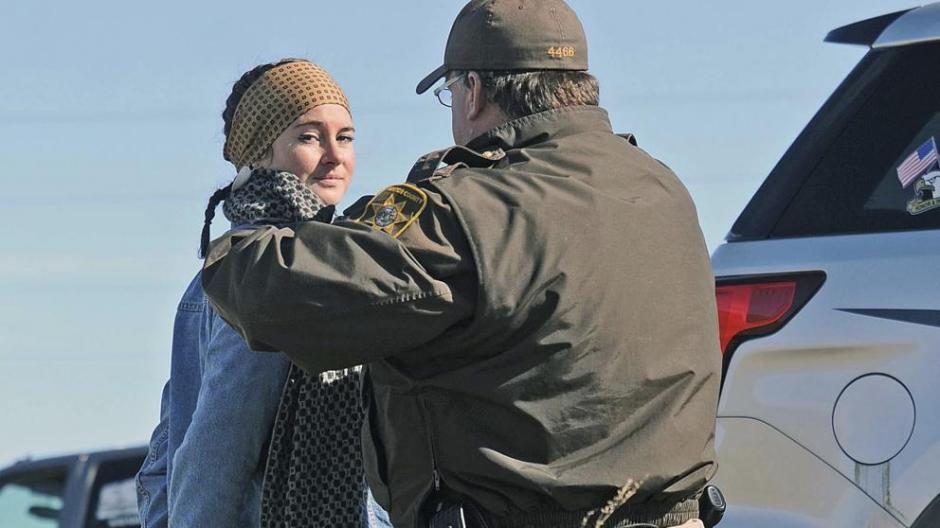 El arresto de la joven actriz ocurrió en Dakota del Norte. (Foto:Vanguardia)
