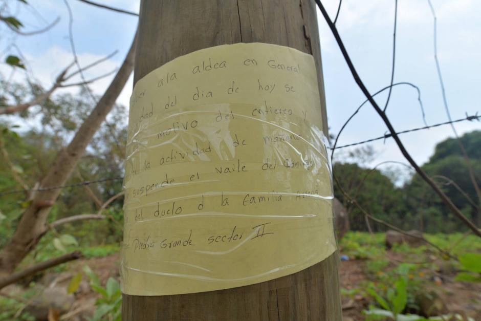 En el pueblo suspendieron las fiestas y bailes en señal de luto. (Foto: Wilder López/Soy502)