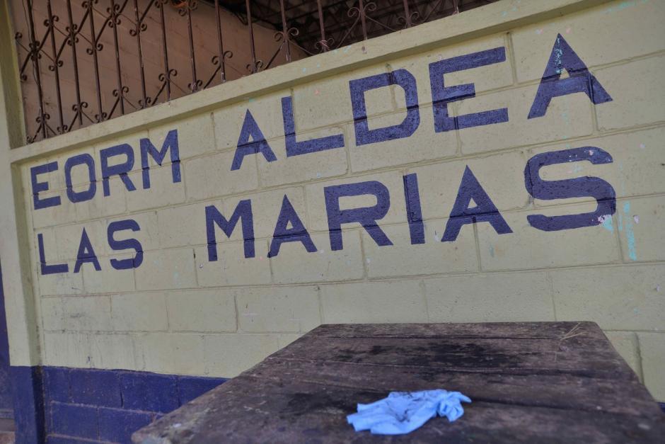 La escuela de la aldea Las Marías fue donde ocurrió el hecho. (Foto: Wilder López/Soy502)