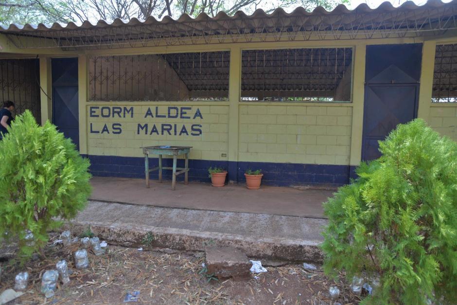 La escuela luce abandonada este miércoles, luego de lo ocurrido. (Foto: Wilder López/Soy502)