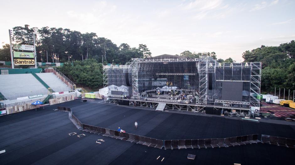 Se esperan más de 20 mil personas al concierto del 3 de noviembre. (Foto: SD Concerts Guatemala)