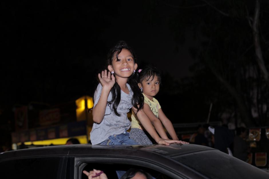 Los niños son de los principales espectadores y quienes más disfrutan de este show. (Foto: George Rojas/Soy502)