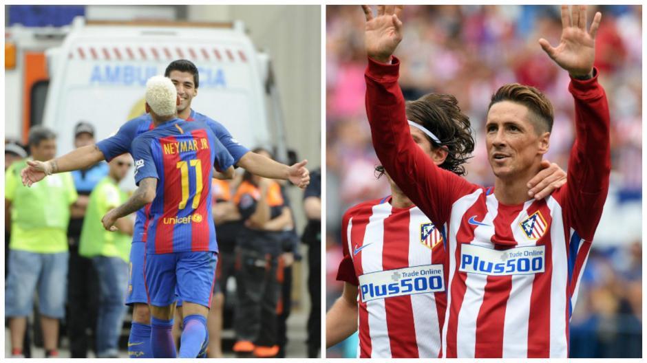 El primer gran partido de La Liga será en el Camp Nou (Fotos: AFP)