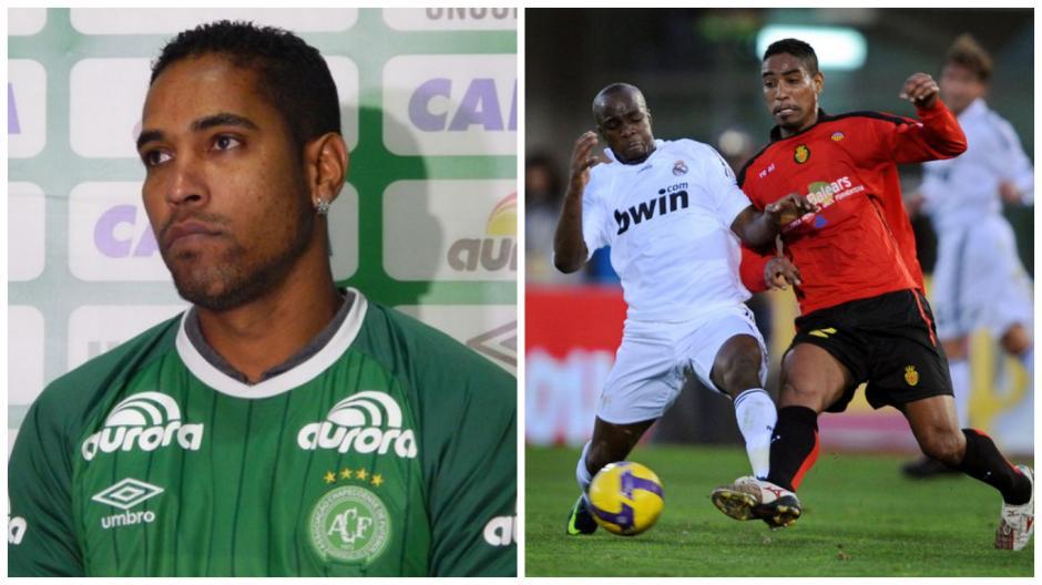 Cléber Santana, con el Chapacoense y el Mallorca. (Fotos: Goal.com/Globo)